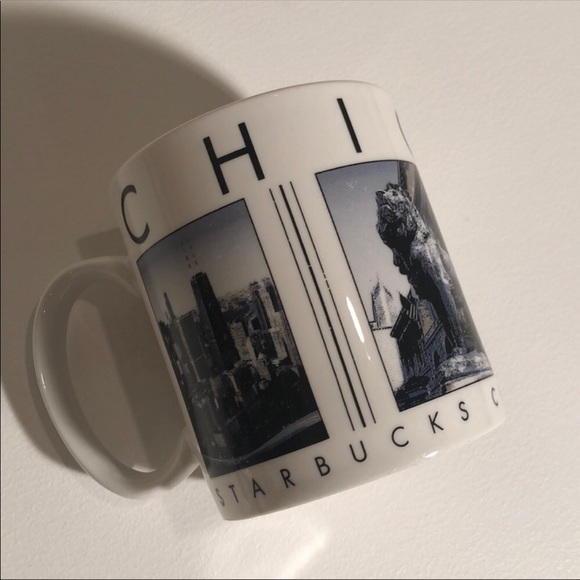Starbucks City Scenes Series Chicago Mug